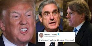 Trump, Mueller and McGahn
